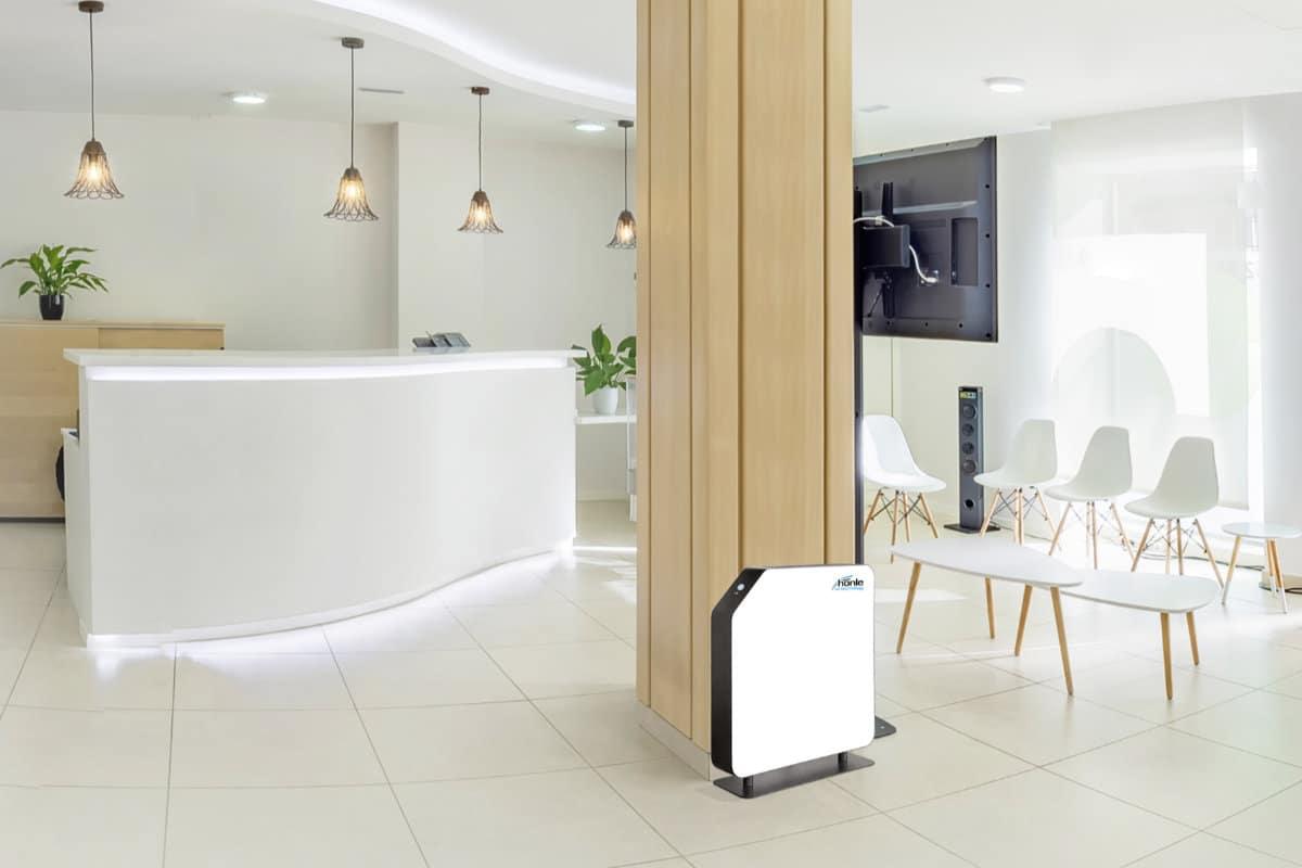 Anwendungsbeispiel UV-C Entkeimungsgerät SteriAir White Umluftentkeimungsgerät