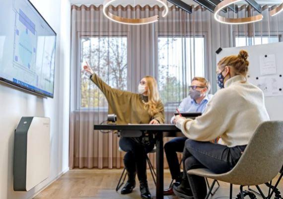 UVC Luftkeimung in Büros und Meetingräumen
